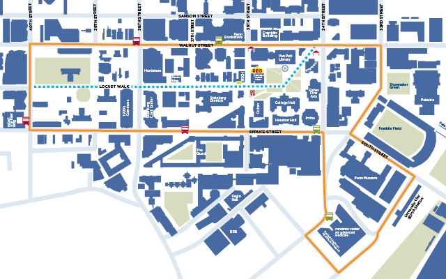Campus & Shuttle Map