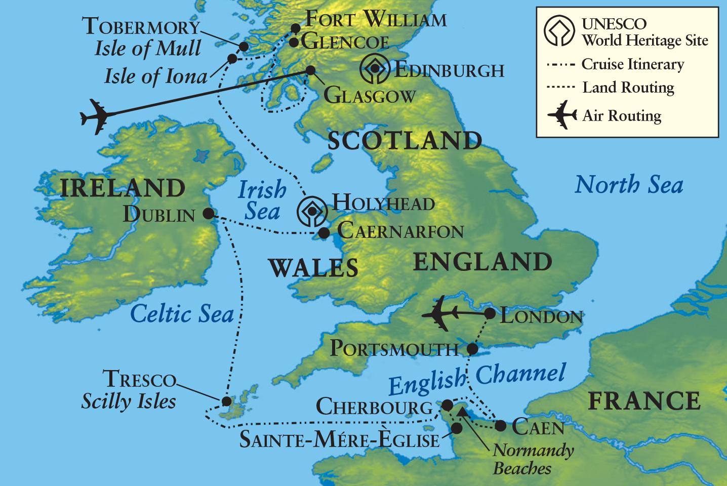 Map Of France England And Scotland.Penn Alumni Celtic Lands